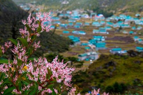 El pueblo de Khumjung.